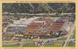 California Burbank Where Motion Pictures Are Made First National Studios