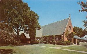 Hampton-Newport News Virginia~US Navy~Langley Air Force Base Chapel 1960s