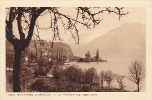 France Environs D'Annecy La Pointe de Menthon