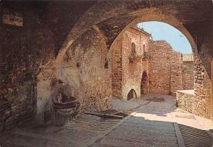Italy Assisi Vicolo, Ruelle de St. Andrea, Gasse