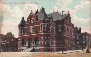 Kansas Fort Scott Post Office 1907