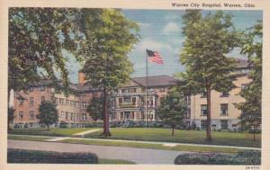 Ohio Warren Warren City Hospital Curteich
