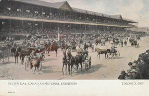 TORONTO, Ontario, 1900-10s; Review Day, Canadian National Exhibition