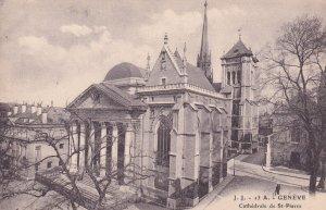 GENEVA, Switzerland, 1900-1910s; Cathedrale De St. Pierre