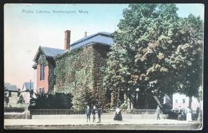 Public Library Newburyport Mass 1908 The Robbins Bros Co 11 144