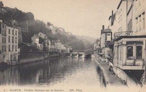 NAMUR, Belgium, 1900-1910's; Vieilles Maisons sur la Sambre #2