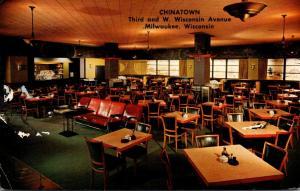 Wisconsin Milwaukee Chinatown Restaurant 1959