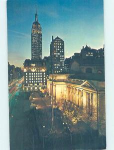 Unused Pre-1980 PUBLIC LIBRARY New York City NY i0279