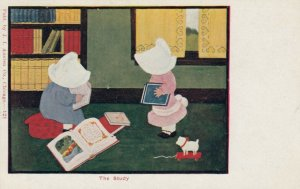 Bonnet Girls in the Study , 1901-07