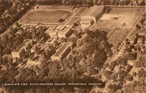 State Teachers College Springfield Missouri Air View