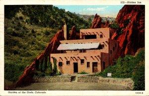 Colorado Garden Of The Gods Hidden Inn 1941