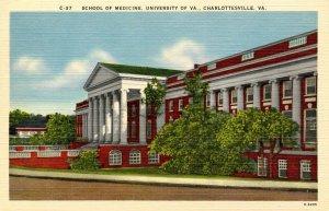 VA - Charlottesville. University of Virginia, School of Medicine