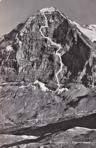 Switzerland Grindelwald Eigernordwand 1959 Photo