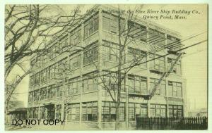 Fore River Ship Building Co. Quincy Point Mass