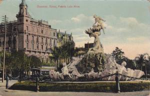 Fuente Lola Mora, Buenos Aires, Argentina, 1900-1910s