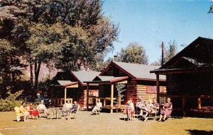 Glenwood Springs Colorado Kenrose Cottage Court Vintage Postcard J71217