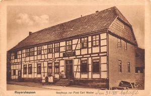 Reyershausen Germany Gasthaus zur Post Carl Mader Reyershausen Gasthaus zur P...