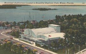 MIAMI , Florida, 1930-40s; Municipal Auditorium Located in Bayfront Park