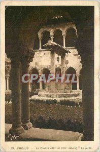 Old Postcard Frejus Le Cloitre