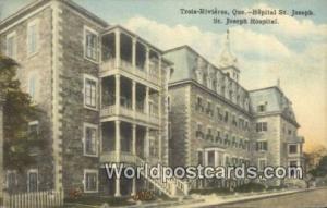 Trois Rivieres, Que Canada, du Canada Hopital St Joseph, St Joseph Hospital T...