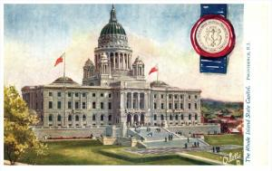 Rhode Island Providence ,  State Capitol Rhode Island , Tuck's no.  2454