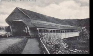 Vermont Woodstock   Old Covered Bridge