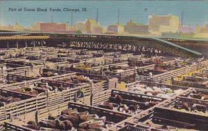 Illinois Chicago Part Of Union Stock Yards