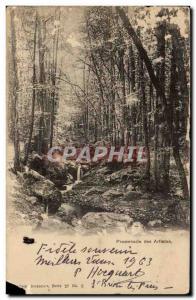 Belgium Old Postcard Artists Walk
