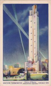 Havoline Thermometer Chicago World's Fair 1933