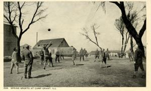 IL - Camp Grant. Spring Sports (Military)