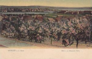 Blick v. d. Bismarck Hohe, Werder a. d. Havel (Brandenburg), Germany, 1900-1910s