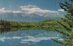 Canada Pyramid Lake Jasper Alberta