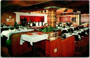 Kansas City, Missouri Postcard EDDYS' RESTAURANT 13th & Baltimore / Interior