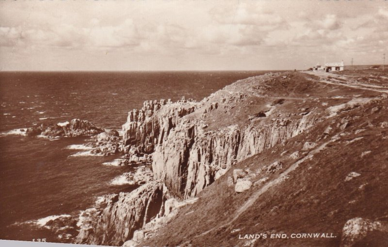 RP; CORNWALL, England, 1930s; Land's End