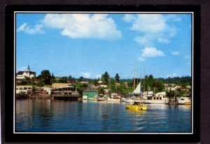 WA Little Norway May Lutheran Church Poulsbo Washington State Bremerton Postcard