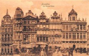 La Grand Place Bruxelles Belgium Unused