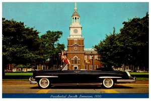 1950 Lincoln , Convertible , Presiident of the United States Car