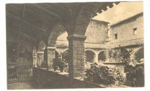 Chiostro di S. Damiano Ingresso al Coro, Assisi, Perugia, Umbria, Italy, 00-10s