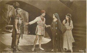 Actor Postcard Ramon Novarro movie scene Roman soldier in uniform