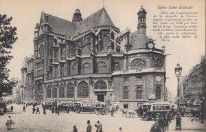 PARIS, France, 1900-1910s; Eglise Saint-Eustache