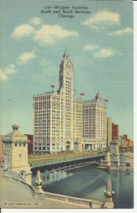 Chicago, ILL., Wrigley Building, South and North Sections