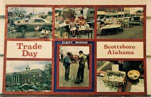 AL - Scottsboro. Trade Day, First Monday (Multi-View)