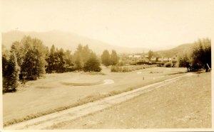 NH - Sugar Hill. Golf Course circa 1923   RPPC