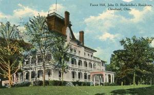 OH - Cleveland. Forest Hill, John D. Rockefeller's Residence