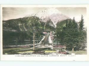 1940's rppc NICE VIEW Banff Alberta AB W0918
