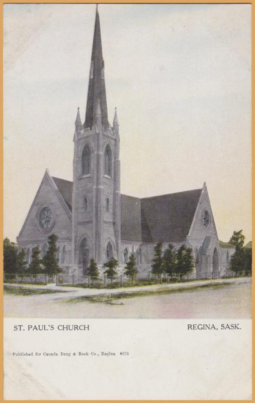 Regina, Saskatchewan-St. Paul's Church
