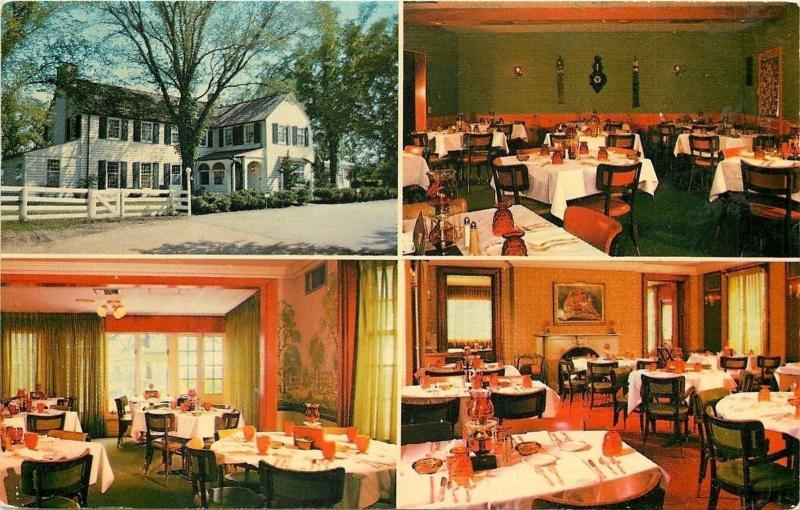Barrington Hills Illinois~Jim Saines Tralee Farms~Restaurant~Inside Out~1950s