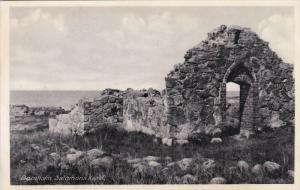 BORNHOLM, Norway, 1900-1910's; Salomons Kapel, Ruins