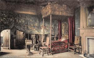 Scotland Edinburgh Holyrood Palace Interior, Queen Mary's Bedroom