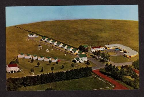 PEI Southport Motel Cottages Prince Edward Island Carte Postale Postcard Canada